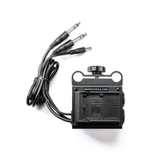 **B-STOCK** Power Grid & XLR Audio Box with Dual LP-E6 Plates for Blackmagic Cinema Cameras