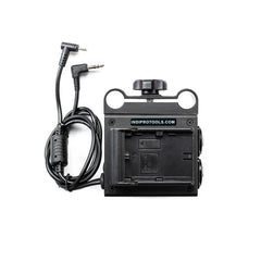 **B-STOCK** Power Grid & XLR Audio Box with Dual LP-E6 Plates for Blackmagic Pocket Cinema Camera