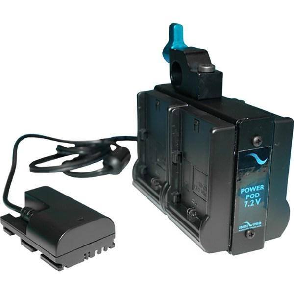 **B-STOCK** Quad Power Pod System for Cameras Running on LP-E6 Batteries