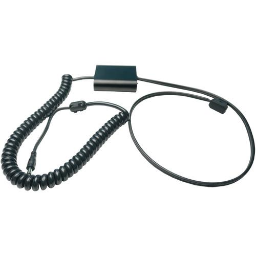 Coiled D-Tap Regulation Cable for Kandao Obsidian R/S (6'-8', Regulated)