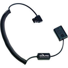 Coiled D-Tap to Sony NP-FW50 type Dummy Battery (24-36