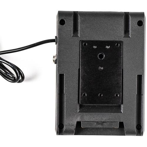 Dual Sony L-Series Power Adapter to Canon LP-E6 type Dummy Battery w/ 1/4-20 Insert