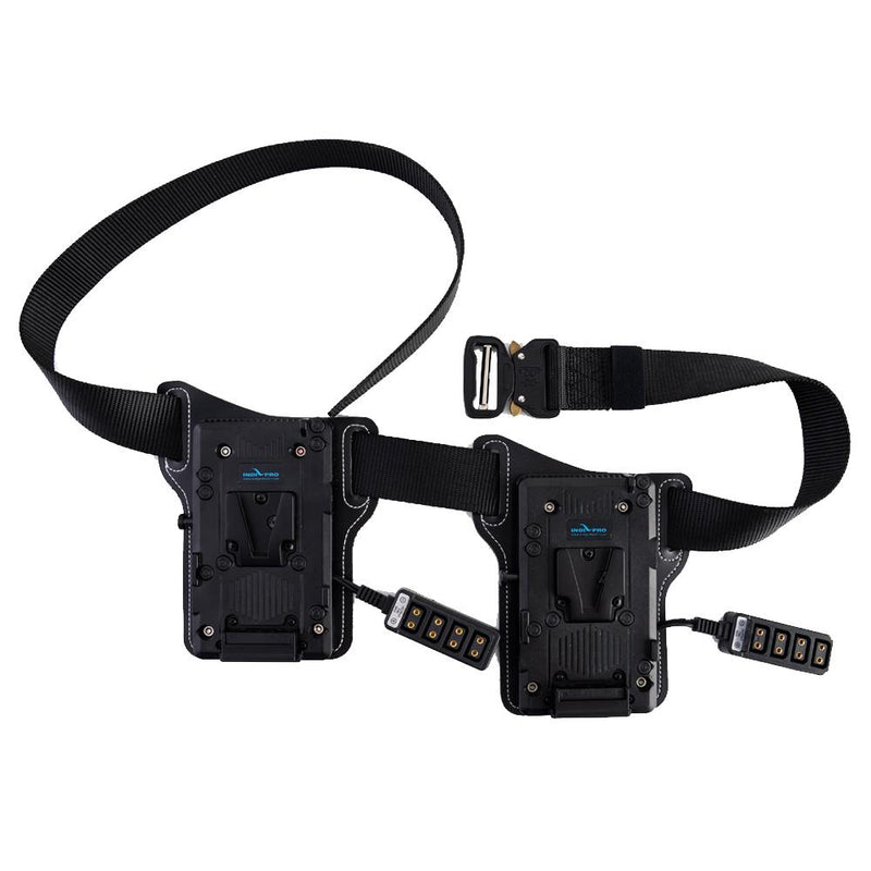 Dual V-Mount Battery Belt w/ 10-way D-Tap Outputs