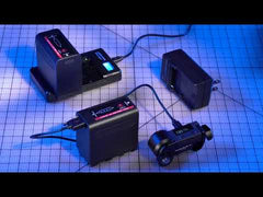 Indipro NP-F980 6600mAh Li-Ion Battery & Indipro NP-F Series Single Battery Charger Kit