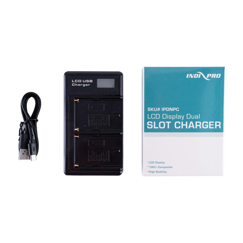 Indipro NP-F Series Dual Battery Charger