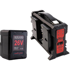 Micro-Series 26V 260Wh Lithium-Ion Battery and 26V Charger Kit (Gold Mount)