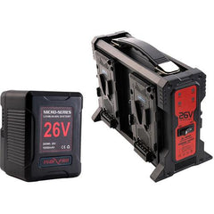 Micro-Series 26V 260Wh Lithium-Ion Battery and 26V Charger Kit (V-Mount)