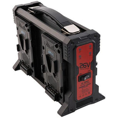 Quad 26V V-Mount Lithium-Ion Battery Charger