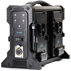 Quad V-Mount Battery Charger with XLR Output