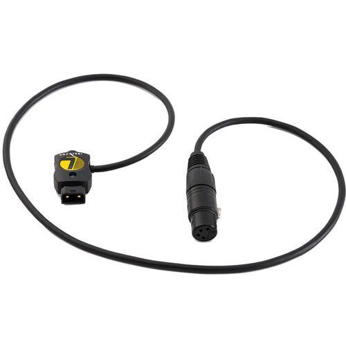 "SafeTap Connector Cable to 4-Pin XLR Female Cable (28"", Non- Regulated)"