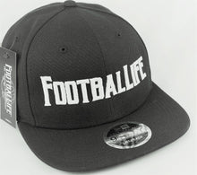 Load image into Gallery viewer, Logo Cap - Black Snapback