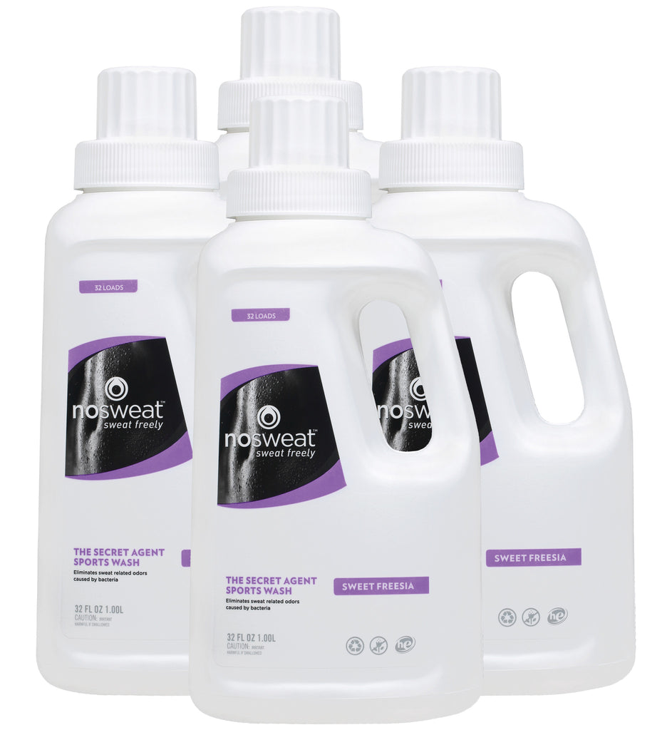 Sports Wash Detergent-SweetFreesia4x32oz