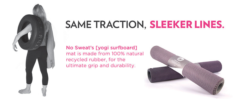 Yoga Mat - No Sweat