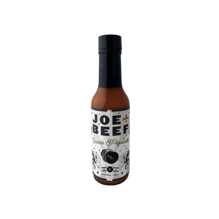 Joe Beef Hot Sauces