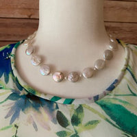 FRESHWATER COIN PEARLS