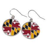 MARYLAND PRIDE EARRINGS