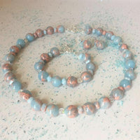 IMPRESSION JASPER NECKLACE