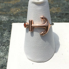 TWO TONED ANCHOR RING