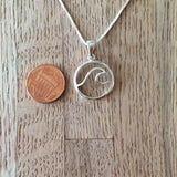 CIRCLE WAVE NECKLACE