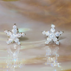 STARFISH PAVE EARRINGS
