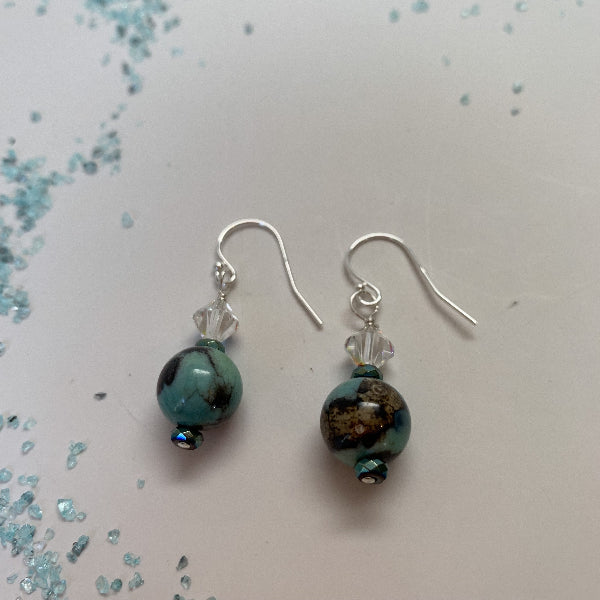TERRA AGATE EARRINGS