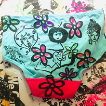 The Coolest Peach Berserk Handprinted Underwear Eva !
