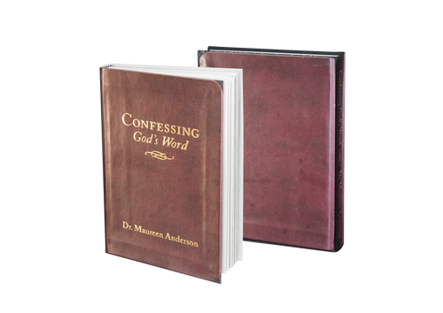 Confessing God's Word - Leather Bound Mini Book - Maureenanderson