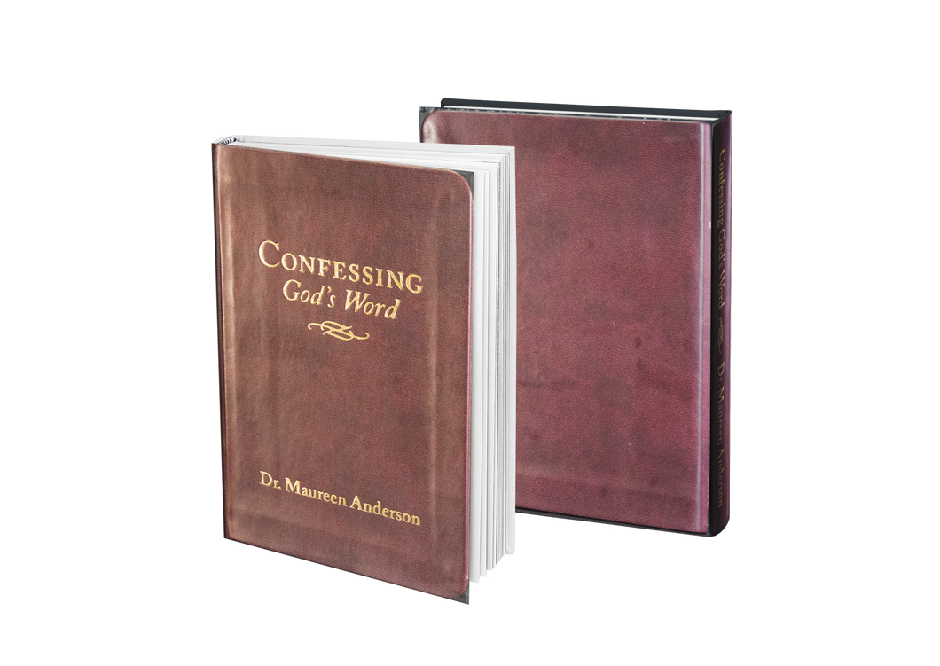 Confessing God's Word - Leather Bound Mini Book - The Word for Winners