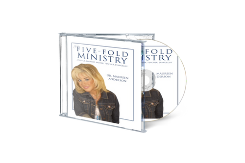 Five-Fold Ministry – 2 CD SET - The Word for Winners
