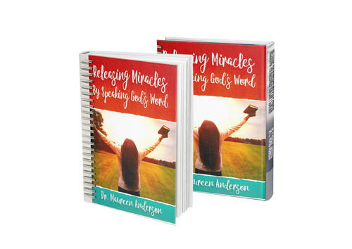 Releasing Miracles by Speaking God's Word Spiral-Bound Paperback Book - Maureenanderson
