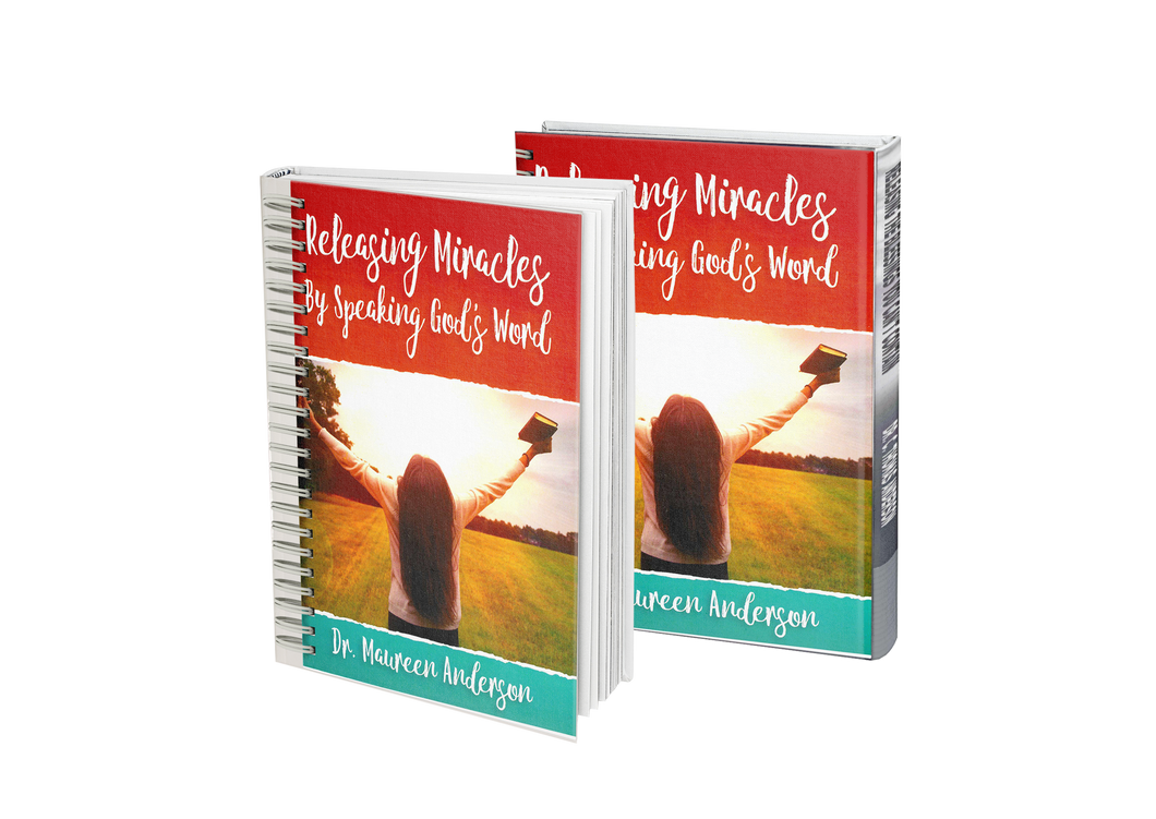 Releasing Miracles by Speaking God's Word (Spiral-Bound Paperback Book) - Maureenanderson