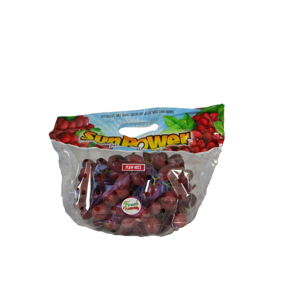 Red Seedless Grapes, Fresh, 2 Lb Package