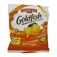 Pepperidge Farm Goldfish Cheese Crackers, Individual Packets, 0.75 Oz Bag, 20 Count/Bag
