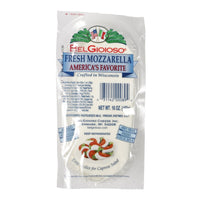 Fresh Mozzarella Cheese, Log, BelGioioso, Sliced, 1 Lb Package