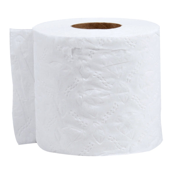 Roll Toilet Tissue, White, 4 x 3.75 Inch Sheets, Individually Wrapped, 6 Ct