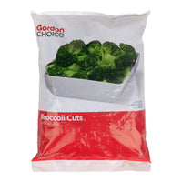 Broccoli Cuts, Gordon Choice, 4 Lb Bag.