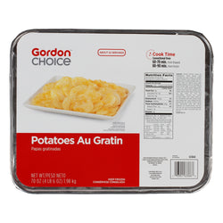 Au Gratin Potatoes Side Dish, Frozen, 70 Oz Tray, 1 Count
