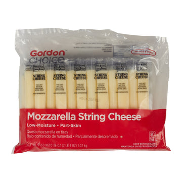 String Cheese, Part-Skim Mozzarella, Individually Wrapped, 1 Ounce, 36 Count Bag