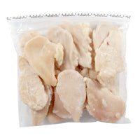 Boneless Skinless Chicken Breasts Fillets, Flattened. (2-5 Lb Bag). 10Lb Box