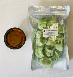The Dumpling Lady, Veggie Dumplings, 12 (Count) Dumplings