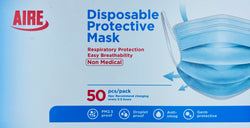 Disposables Protective  Face Mask, 50 Count Box
