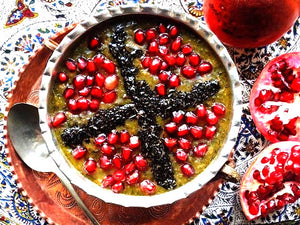 Pomegranate Soup  -  Ashe-Anar  (Each container Serves 3-4 person)