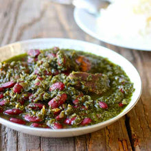 Load image into Gallery viewer, Herb, Bean & Beef Stew (VEGETARIAN) - Ghormeh Sabzi Stew (Each container serves 3-4 person)