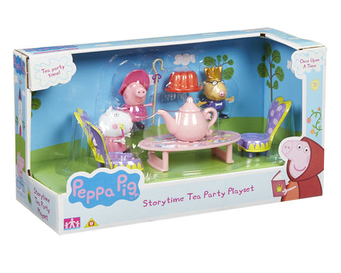 Peppa Pig Once Upon a Time Storytime Tea Party Playset