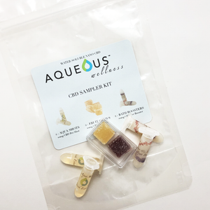 Aqueous Wellness FREE  CBD Sample Kit