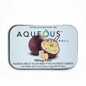 Aqueous Fruit Chew Gummies - Passion Fruit