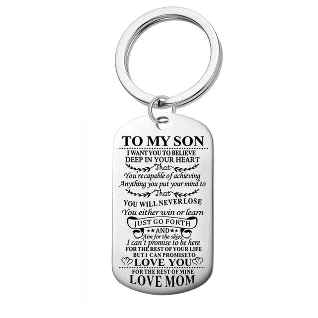 Inspirational Dog Tag Necklace - Beautifyl Trinkets