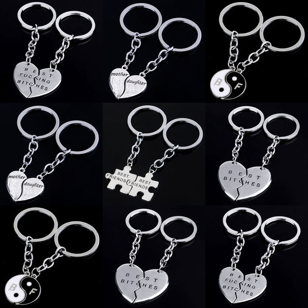 Friendship Jigsaw Charm Keychains - Beautifyl Trinkets