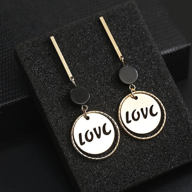 Fashion Long Slope earrings - Beautifyl Trinkets