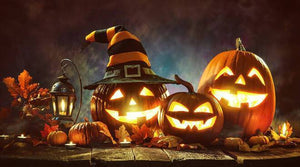【Factory Outlet】Halloween Talking Animated Pumpkin with Built-In Projector & Speaker